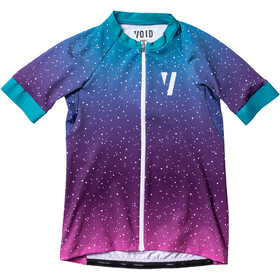 VOID Ride Maillot Manches courtes Femme, white spray fade